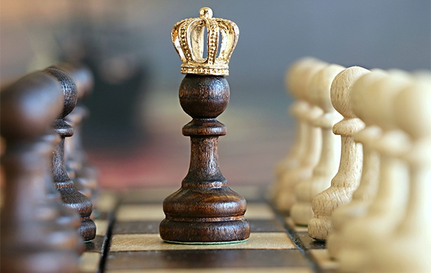 7 steps to retaining talent crowned chess piece