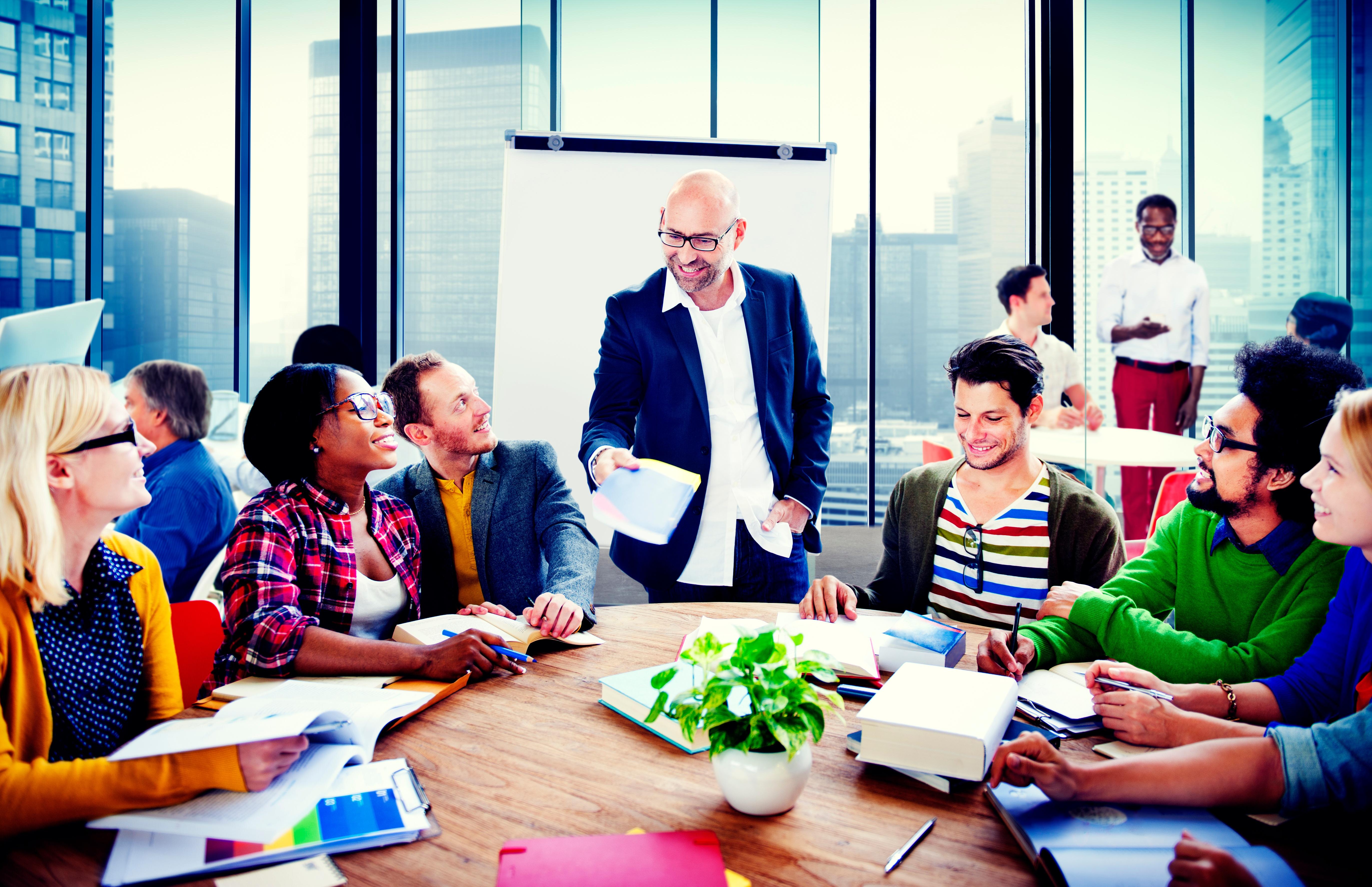 Developing leadership practice