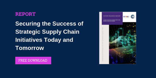 Securing the Success of Strategic Supply Chain Initiatives Today and Tomorrow Report